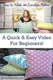 how to make an envelope pillow and save money monica skov