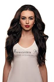 irresistible hair extensions irresistible me clip in hair extensions chocolate
