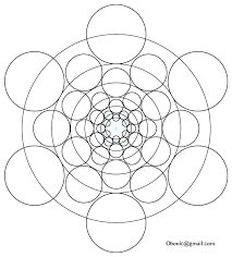 phi based circles geometry doodles drawing art