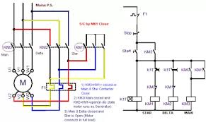 circuit of delta starter electrical info pics non