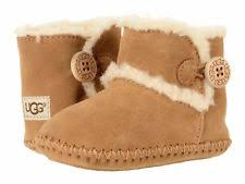 ugg womens emerson boots chestnut suede baby booties ebay