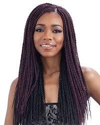 twisted hair for chrochet senegalese twist small freetress bulk crochet braiding hair