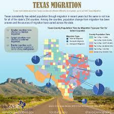 Utsa Map Tdc Infographics Texas Migration