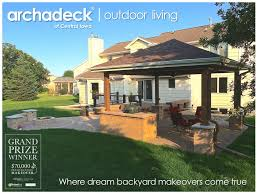 Backyard Porches And Decks by An Outdoor Living Space Patios Porches Sunrooms Pergolas