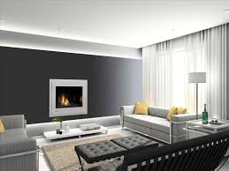 fireplace styles contemporary with white sectional sofa and modern