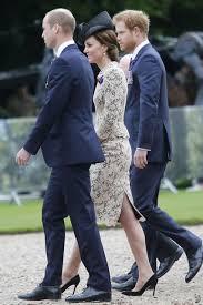 kate wore a custom made tan lace dress with dark lining u2014 i