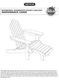Free Plans For Garden Chairs by Build Your Own Adirondack Chair Free Printable Plans And Step