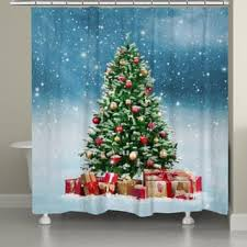 Discount Christmas Shower Curtains Holiday Bath U0026 Towels Shop The Best Deals For Nov 2017