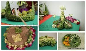 telugu bride with kobbari bondam pelli poola jada
