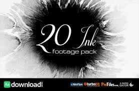 20 ink footage pack videohive free download free after