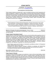 Example Resume Engineer by Professional Engineer Sample Resume 10 Engineering Professional