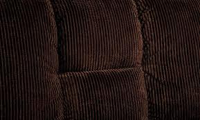 Corduroy Sofa Fabric Chocolate Padded Corduroy Sofa Futon Converts Into Bed Chrome Legs