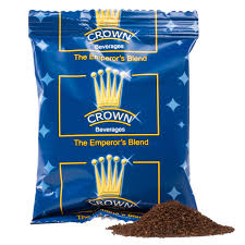 crown beverages emperor s blend coffee 2 oz packet 80