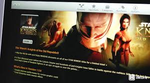 selection of star wars games price reduced in the mac app store