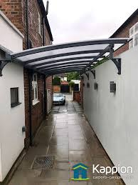 wall attached carport installed in liverpool kappion carports