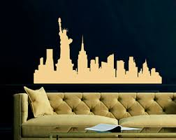 New York City Home Decor New York City Decal Etsy
