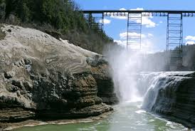 Map Of Letchworth State Park by Letchworth State Park Mount Morris Ny 14427