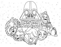 color pages star wars 48 best angry birds star wars images on pinterest angry birds
