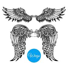 14 406 feather doodle cliparts stock vector and royalty free