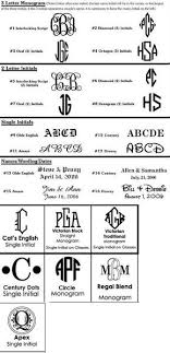 initial monograms monogrammed snifters the monogram merchant