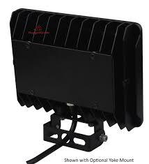 50 watt led flood light yoke mount for 30 to 50 watt kivo led flood lights