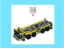 truck instructions crane truck instructions 8053 technic