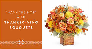 thank the host with thanksgiving bouquets the gift exchange