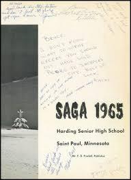 paul harding high school yearbook explore 1965 harding high school yearbook st paul mn classmates