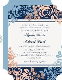 Navy Blue Wedding Invitations Cheap Wedding Invitations Invite Shop