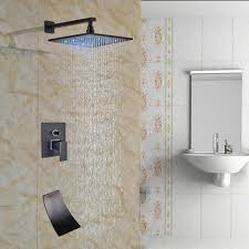 Faucet Shower Converter Shower Awesome Tub Shower Valve Votamuta Led Color Changing Wall