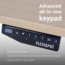 Automatic Height Adjustable Desk by Standing Desk Frames Flexispot
