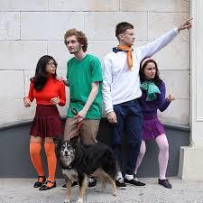 Halloween Costumes Scooby Doo Scooby Doo Gang Simple Clothing Costumes Halloween Costumes