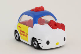 tomy tomica dream happy birthday kitty car 2014 special asia