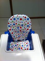 siege pour chaise haute le coussin réversible pour chaise haute ikea my