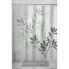 Grey Green Shower Curtain Navy And Gray Shower Curtain Wayfair