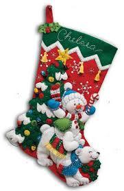 bucilla kits lovely christmas felt kits bucilla applique kit snow