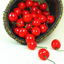 aliexpress com buy new 20 pcs artificial fake cherry fruit