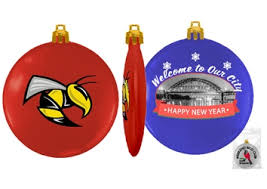 custom printed christmas ornaments corporate holiday gifts