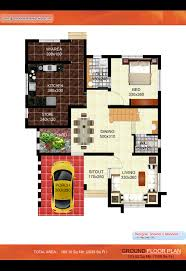 kerala villa plan 2035 sq ft kerala home design and floor plans