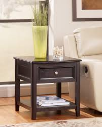 Tall End Tables Living Room by Carlyle Black T771 Cocktail Table And 2 End Tables