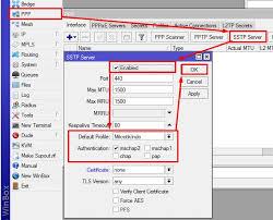 cara membuat vpn ip di mikrotik cara membuat sstp vpn server di mikrotik kumpulan tutorial