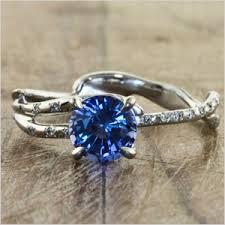 simple sapphire engagement rings modern engagement ring for unique engagement ring no diamonds