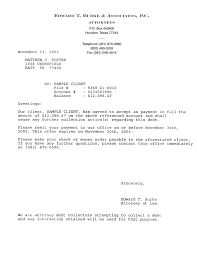 printable sample letter of agreement form attorney legal forms