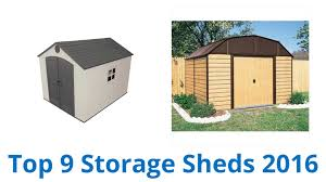 craftsman vertical storage shed 9 best storage sheds 2016 youtube