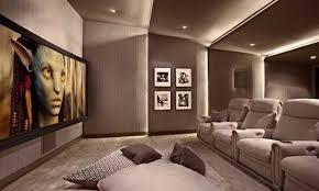 Home Theater Interior Design Simple Decor Home Theatre Interior - Home designs interior
