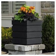 black square planter target