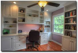 Custom Home Office Cabinets In Home Office Custom Built In Cabinets