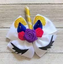 boutique hair bows unicorn hair bow handmade boutique hair bows unicorn birthday