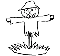 thanksgiving scarecrow coloring pages pumpkin scarecrow