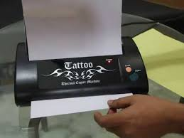 tattoo thermal printer reviews how to use thermal copier for tattoo youtube
